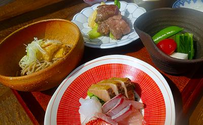伊豆河津にあるホテル内の「和食処」での勤務!