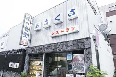 大正13年創業のレトロなお店です。人気メニューはカレーライスと麻婆豆腐。クセになる味わいが特徴です。