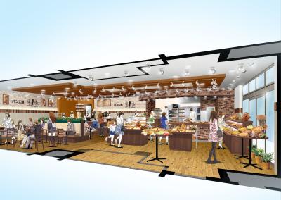 1973年創業のベルベ。2018年9月下旬、多摩センター駅前に新たなベーカリーカフェをオープン!