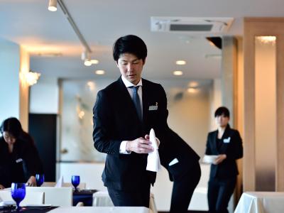 フランス料理と温泉宿が融合した、新しいスタイルのリゾートホテル。