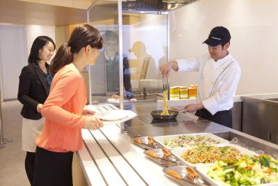 【埼玉・栃木・群馬県】大手企業内の社員食堂での調理業務!