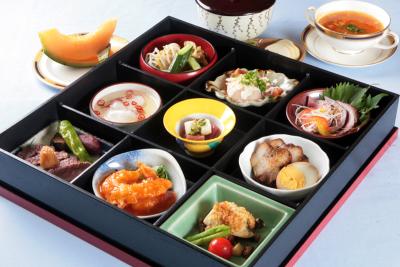 千葉県の地元食材を使った和食中心のメニューをご提供。ケータリングも行なっています。