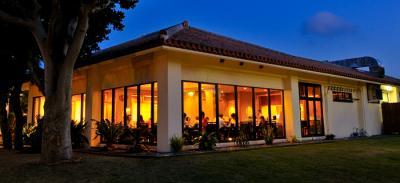 ロマンチックな雰囲気で食事を楽しめます。