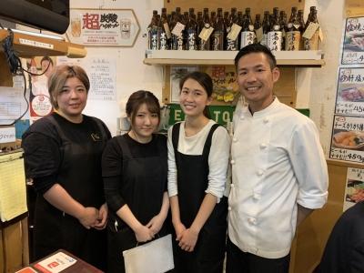 「淀屋橋駅」近く♪ビジネス街にある居酒屋『まるのみ』にて、新しいスタッフを募集!