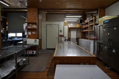 設備等も整った広々とした厨房です。是非ここであなた力を発揮してください!