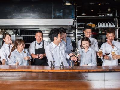 創業100年を誇るワイン商社のグループが展開する2店舗で調理スタッフ(料理長候補)を募集!