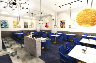 2019年9月中旬オープン予定のホステル内で誕生するカフェ・レストラン&バル!