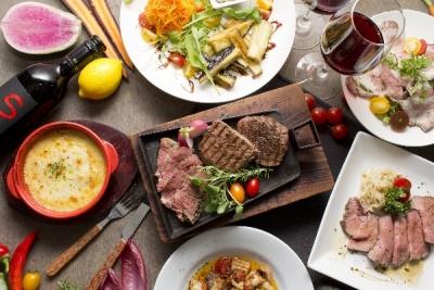 絶品肉料理を手軽に楽しめる!こんなオシャレな料理をつくる調理技術が身につきます。