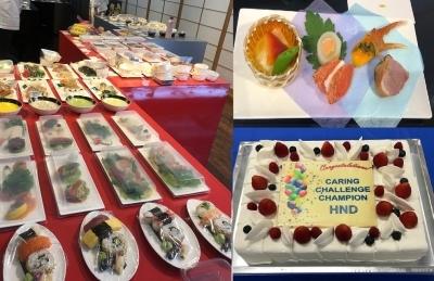 和食、洋食、タイ料理、中東料理など、幅広い料理スキルが学べます!