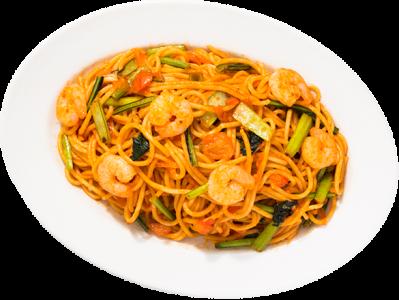 スパゲッティといえばナポリタン。王道のローマ軒の味を作ってください。