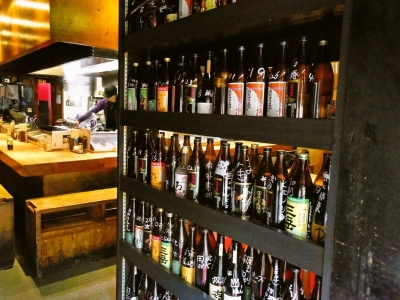 日本酒や焼酎など、酒類も種類豊富にラインナップ。