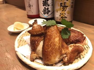朝引きの新鮮鶏肉を使った、様々な鶏肉料理!鶏を丸ごと使った「丸揚げ」から名物「朝引き鶏のたたき」など、鶏肉料理の宝庫です。