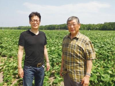自社農場のオホーツクファームで野菜・お米を生産。生産者さんの顔が見える会社です◎