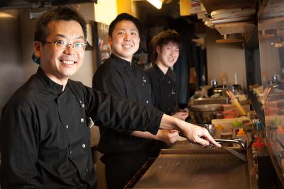調理技術だけでなく、店舗運営スキルのすべてが身につく職場です!