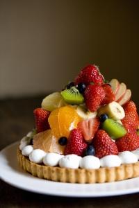 旬のフルーツをたっぷり使った、季節限定メニューも。
