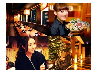 都内を中心に個室居酒屋やバルなど12店舗を展開しています。