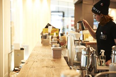 2019年7月、表参道ヒルズ内にオープンするカフェ&ショップ。