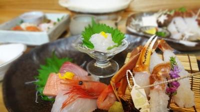 日本海の天然モノが自慢の海鮮料理店
