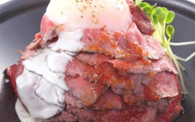 肉屋が手がける本格派のローストビーフ丼専門店です!
