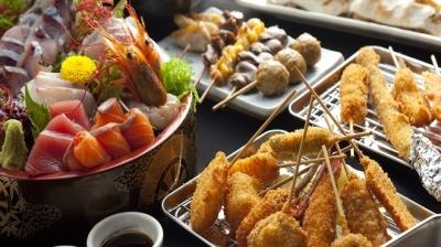 串かつはもちろん、鮮魚にもやきとりにも自信ありです!