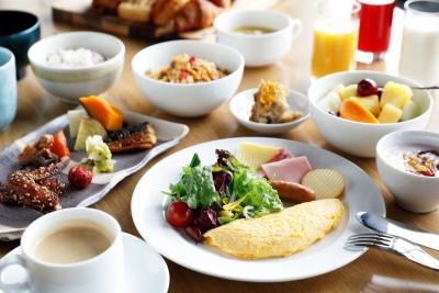 地元の食材を使った朝食はゲストからも好評を頂いています。