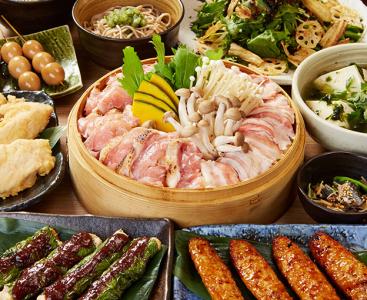 産地にこだわったブランド鶏を使った名物料理の数々を提供します☆