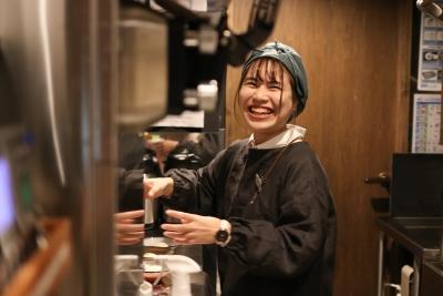 お客様の笑顔を作るのは、スタッフの笑顔です☆