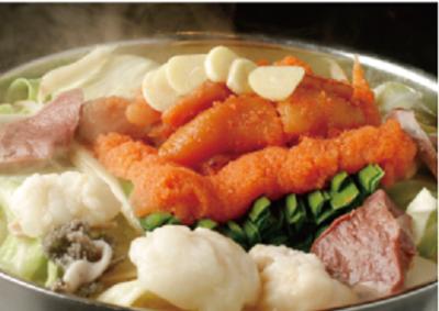豚骨スープに白味噌、博多うち川の明太子をふんだんに使用したもつ鍋が人気の当店で調理スタッフを募集