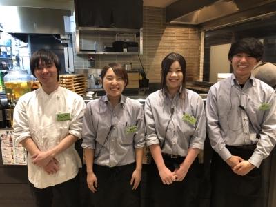 静岡駅前にある、本格串焼きと野菜巻き串が楽しめるお店で調理スタッフを募集します!