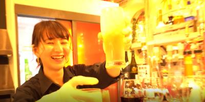 お店の雰囲気の良さと、スタッフの笑顔には自信アリ☆彡