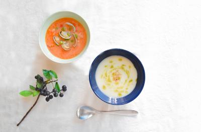 体もこころもほっこりするスープを提供しています♪