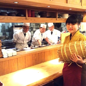 東京・日本橋のコレド室町内にある、お米が主役の和食店です。