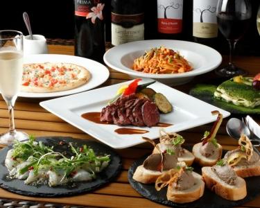 ワインに合うイタリア料理を各種ご用意しています
