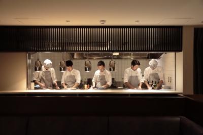 2017年11月にオープンした、新たなレストラン「KANAME」