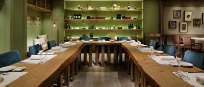 ミラノコレクションで活躍する女性オーナーが手掛ける、友人の家に来たような時間を過ごせるリストランテ。