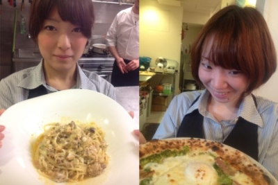 あのイタリアで有名なレストランの日本1号店から独立!本場のノウハウを生かしています。