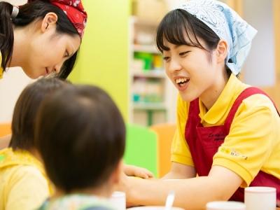 「子どもが好き」そんなアナタを大歓迎!子どもたちの笑顔に包まれる、あたたかい職場です◎