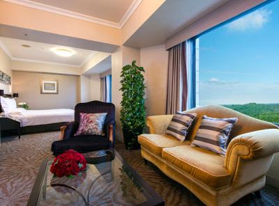 緑豊かな1万坪の敷地を誇るハイクラスホテル!