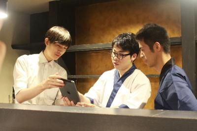 2019年3月1日オープン!「神戸牛と蟹割烹 宮坂」で、立ち上げメンバーとしてご活躍を。
