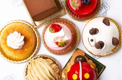 職人の技が光る華やかで愛らしいケーキ