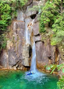 木曽の美しい大自然に囲まれ、休みの日にはアウトドアスポーツを楽しむこともできます