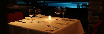 屋久島のリゾートホテル内にある、フレンチレストラン。「地産池沼」にこだわった料理をご提供。