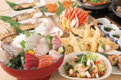 旬の食材を活かした宴会コースです。