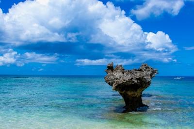 海の近くにあるので一面色鮮やかなオーシャンビュー。爽快な眺めが楽しめます♪
