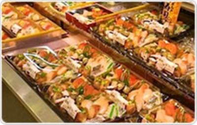 鮮魚小売り業の強みを最大に活かし、寿司の小売りや回転寿司などの飲食事業も展開しています。