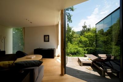自然、アート、美食が調和する、全10室のオーベルジュ。