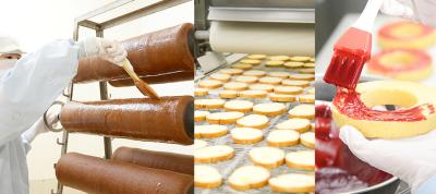 自社が手がけるバウムクーヘンブランドはじめ、製菓製造の機械管理をお任せ!